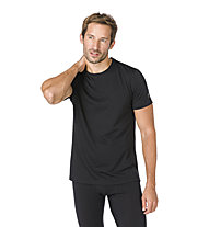 Super.Natural M Base Tee 175 - maglietta tecnica - uomo, Dark Black