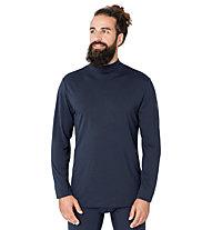 Super.Natural M Base Turtle Neck 175 - Funktionsshirt langarm - Herren, Blue