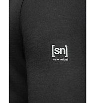 Super.Natural M Base Turtle Neck 175 - Funktionsshirt langarm - Herren, Black