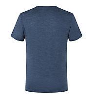 Super.Natural Bike Line - T-Shirt - Herren, Blue/Grey