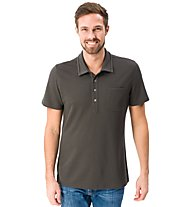 Super.Natural M Comfort Piquet - polo - uomo, Dark Grey