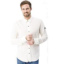Super.Natural M Comfort Piquet Shirt - Hemd langarm - Herren, White