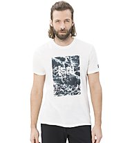 Super.Natural M Digital Graphic - t-shirt fitness - uomo, White