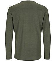 Super.Natural Essential I.D. LS - Langarmshirt - Herren, Green