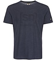 Super.Natural M Essential I.D. - Funktionsshirt kurzarm - Herren, Blue