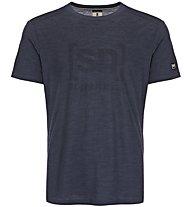 Super.Natural M Essential I.D. - maglietta tecnica - uomo, Blue