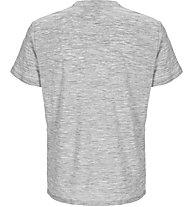 Super.Natural M Essential I.D. - maglietta tecnica - uomo, Grey