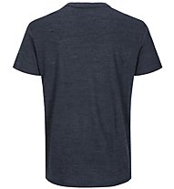 Super.Natural M Essential I.D. - maglietta tecnica - uomo, Dark Blue