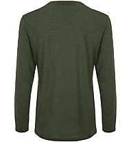 Super.Natural M Graphic 140 - maglia a maniche lunghe - uomo, Dark Green