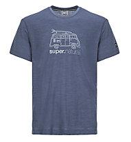 Super.Natural M Graphic Van - t-shirt - uomo, Blue