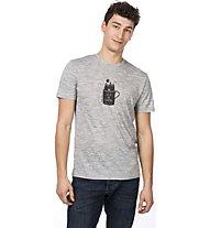 Super.Natural M Graphic Tee - T-Shirt - Herren, Grey/Black
