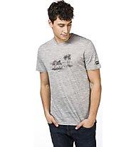 Super.Natural M Graphic Tee - T-Shirt - Herren, Grey