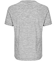 Super.Natural M Graphic 140 - Funktionsshirt kurzarm - Herren, Grey