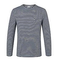 Super.Natural Marinero Crew - maglia a maniche lunghe - uomo, Grey/Blue