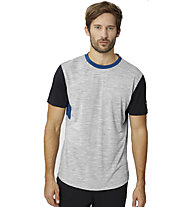 Super.Natural M Motion - T-shirt - uomo, Grey/Black