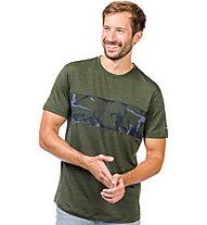 Super.Natural M Mountain Contrast - T-shirt - uomo, Green