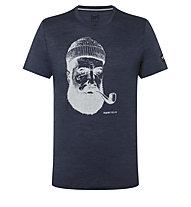 Super.Natural Sailor - T-Shirt - Herren, Blue/Grey