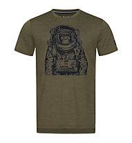 Super.Natural Space Monkey - T-Shirt - Herren, Green/Black