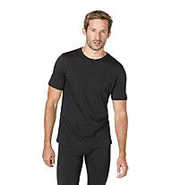 Super.Natural M Tee Base 140 - maglietta - uomo, Black
