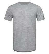 Super.Natural M Tee Base 140 - maglietta - uomo, Grey