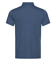 Super.Natural Travel Polo - Poloshirt - Herren, Blue
