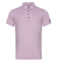 Super.Natural Travel Polo - Poloshirt - Herren, Pink