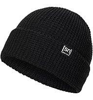 Super.Natural Merino Basic Beanie - Wollmütze, Black