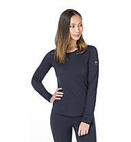 Super.Natural W Base 140 - maglia a maniche lunghe intima - donna, Blue