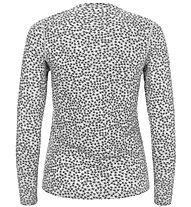 Super.Natural W Base 175 Printed - maglia a maniche lunghe - donna, Grey