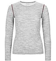 Super.Natural W Base 140 - maglia a maniche lunghe intima - donna, Light Grey