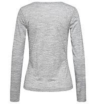 Super.Natural W Base 140 - maglia a maniche lunghe intima - donna, Grey