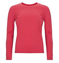 Super.Natural W Base LS 175 - maglietta tecnica a manica lunga - donna, Red
