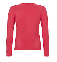 Super.Natural W Base LS 175 - Langarmshirt - Damen, Red