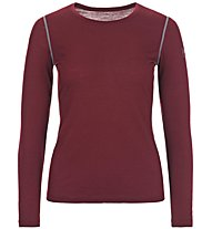 Super.Natural W Base LS 175 - Langarmshirt - Damen, Dark Red