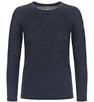 Super.Natural W Base LS 175 - maglietta tecnica a manica lunga - donna, Dark Blue
