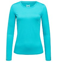 Super.Natural W Base LS 175 - Langarmshirt - Damen, Light Blue