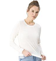 Super.Natural W Base LS 175 - maglietta tecnica a manica lunga - donna, White