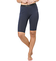 Super.Natural W Base Short Tight 175 - calzamaglia corta - donna, Dark Blue