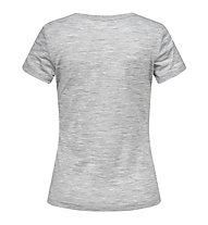 Super.Natural W Base Tee 140 - Funktionsshirt - Damen, Grey