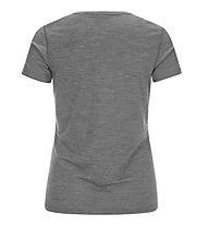 Super.Natural W Base Tee 175 - maglietta tecnica - donna, Grey