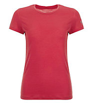 Super.Natural W Base Tee 175 - T-Shirt - Damen, Red