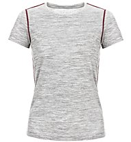 Super.Natural W Base Tee 175 - maglietta tecnica - donna, Light Grey
