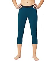 Super.Natural W Base Tight 175 - calzamaglia a 3/4 - donna, Blue