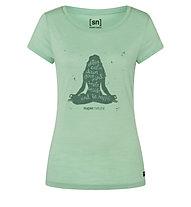 Super.Natural W Calm Down - T-shirt - donna, Light Green