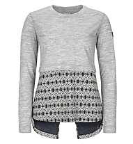 Super.Natural W Comfort Slash LS - maglia a manica lunga - donna, Grey