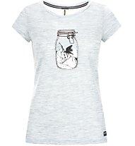 Super.Natural W Digital Graphic 140 - T-shirt - donna, Light Blue