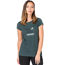Super.Natural W Digital Graphic 140 - T-shirt - donna, Green
