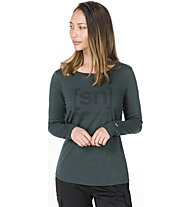 Super.Natural Essential I.D. - Funktionsshirt langarm - Damen, Dark Green