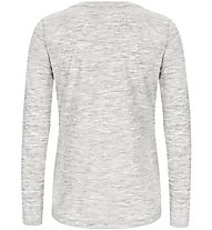 Super.Natural W Graphic 140 - maglia a maniche lunghe - donna, Light Grey