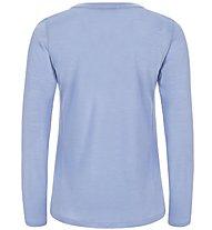 Super.Natural W Graphic LS 140 - Funktionsshirt langarm - Damen, Blue